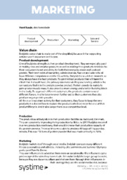 Værdikæde bodylab | Noter Afsætning