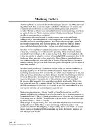 Maria og Torben analyse | Naja Marie Aidt