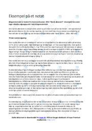 Norsk økonomi | Noter International økonomi