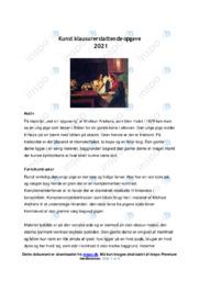 Kunst klausurerstattende | Opgave | 12 i karakter