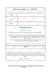 Modstandskampen | DHO | 10 i Karakter
