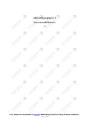 BNP   International økonomi   10 i Karakter