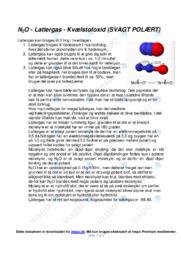 Molekyler | Opgave | 10 i karakter