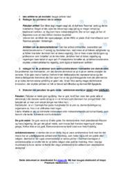 Demokratisk Koma | Noter Samfundsfag