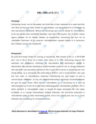 PBL-OPGAVE | Virksomhedsøkonomi | 10 i Karakter