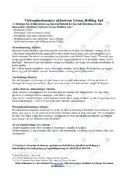 Søstrene Grenes Holding ApS | Virksomhedsøkonomi