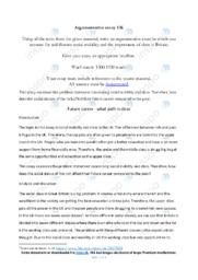 UK   Engelsk Essay   10 i Karakter
