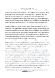 Kunsten at græde i kor | Analyse | Erling Jepsen | 10 i Karakter