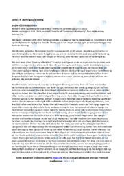 Drøm og virkelighed   Analyse   Thomasine Gyllembourg