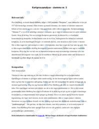 Requiem   Analyse   Peer Hultberg   12 i Karakter