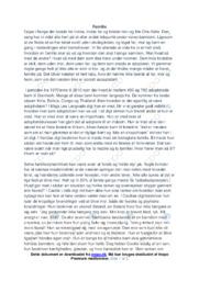 Familie | Noter Dansk Essay