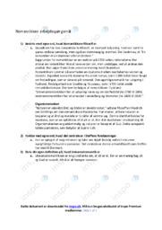 Romantikken   Noter Dansk   Spørgsmål 1-3