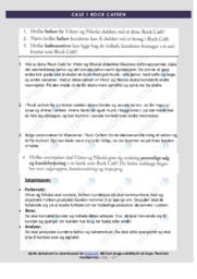 Rock Cafe | Analyse | 10 i karakter