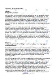 Boghandlerbranchen   Analyse   10 i karakter