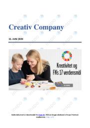 Creativ Company | Analyse | 10 i karakter