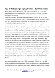 Knæler   Analyse   Roberta Hilarius Reichhardt