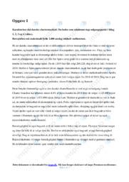 Det danske chartermarked   Analyse   10 i karakter