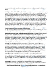 Det Danske Kosmetikmarked   Afsætning Case   10 i Karakter