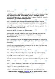 Guldhornene   Analyse   10 i karakter