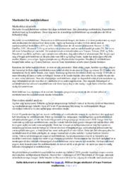Markedet for Mobiltelefoner | Afsætning | 10 i Karakter