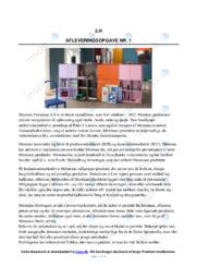 Montana Furniture AS | Analyse | 10 i karakter