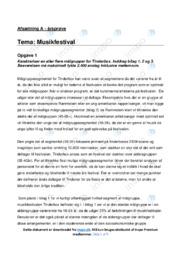 Musikfestival   Analyse   10 i karakter