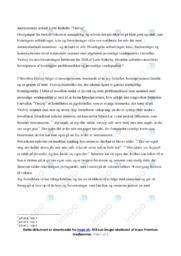 Violvej   Analyse   Lotte Kirkeby   10 i Karakter