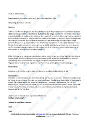 Muldskud   Analyse   Henrik Pontoppidan