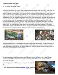 Alt for meget henkastet affald!   Noter Dansk Essay