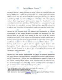 Carlsberg | Analyse | 10 i karakter