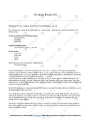 Rynkeby Foods   Analyse   10 i karakter