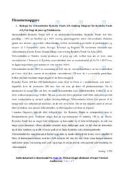 Rynkeby Foods AS | Afsætning Case | 10 i Karakter