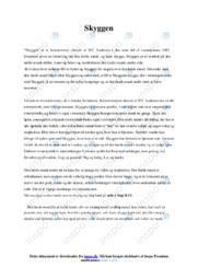Skyggen | Analyse | 10 i karakter