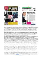 Forskellen er på Ekstrabladets & Jyllandspostens | Noter Analyse