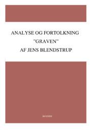 Graven | Noter Analyse | Jens Blendstrup
