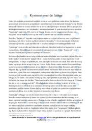 Karens jul | Analyse | Amalie Skram | 10 i Karakter