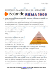 ZALANDO OG REMA 1000 | Analyse | 10 i karakter