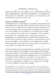 Den Blå Planet | Analyse | 12 i karakter