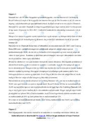 Det danske ølmarked   Analyse   12 i karakter