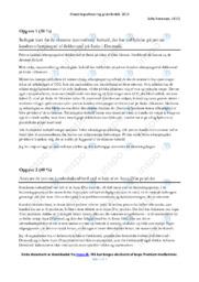 Eksterne Forhold   Afsætning Case   12 i Karakter