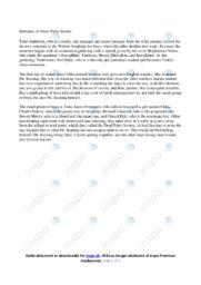 Summary of Dead Poets Society | Noter Analyse