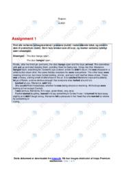 Assignment 1-4 | Engelsk | 10 i Karakter