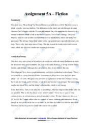 Bone Deep   Analyse   Martin Malone   10 i Karakter
