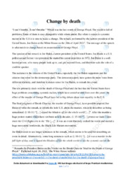 Speech   Analyse   Joe Biden   10 i Karakter