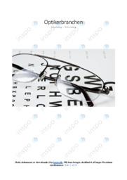 Optikerbranchen   Analyse   10 i karakter