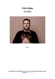 Friis Holm | Analyse | 12 i karakter