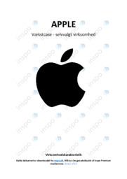 Vækstcase apple | Analyse | 12 i karakter