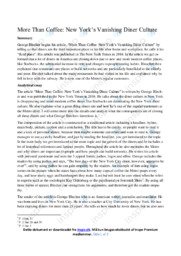 More Than Coffee | Essay  | 10 i karakter