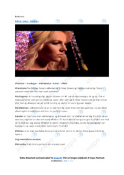 Radiance   Noter Analyse   Britney Spears