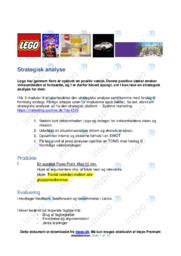 Lego | Analyse | Noter